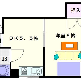 【ロイヤル下寺】5号タイプ!1DKタイプ!静かな環境で住みやすい下...