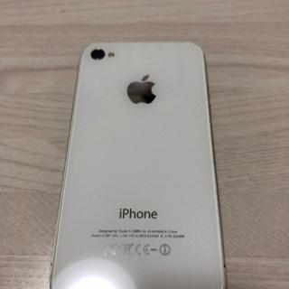 iPhone4s ホワイト16G ソフトバンク