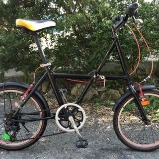 20インチ折りたたみ自転車(外装6段変速)