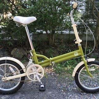 16インチ折りたたみ自転車(リアサス)