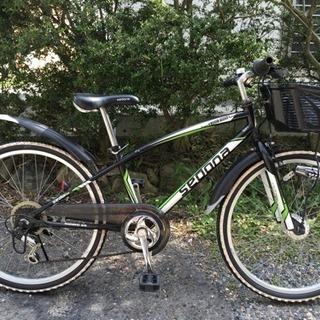 24インチジュニアマウンテンバイク