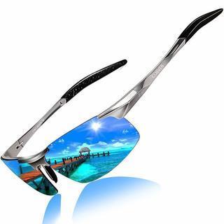 調光 サングラス メンズ 偏光 レンズ UV400 紫外線カット...