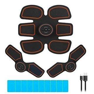 腹筋ベルト トレーニング器具 腹筋 筋トレ USB充電式