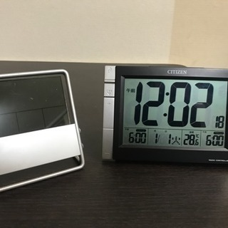 CITIZEN デジタル時計 + もう一つ 美品