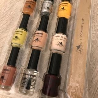 【新品】マニキュア9個&爪磨きセット