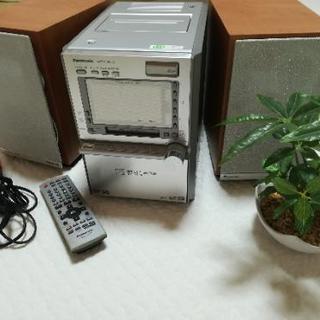 Panasonic SD‐MD‐CDデッキ