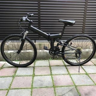 【中古】 マウンテンバイク 自転車 26インチ ブラック