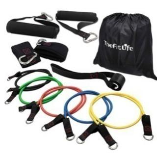 新品●TheFitLife フィットネスチューブ トレーニングチ...
