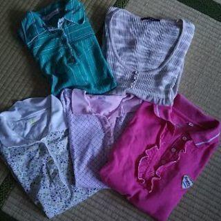 レディース ポロシャツ 5枚セット 中古品