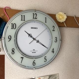 壁掛け時計 電波時計