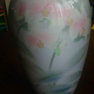 彩色磁絵  花瓶