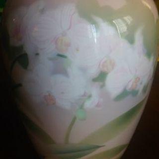 彩色磁絵  花瓶②