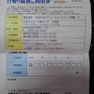 ANAホリデイインリゾート(青島パームビーチホテル)日帰り温泉・中...
