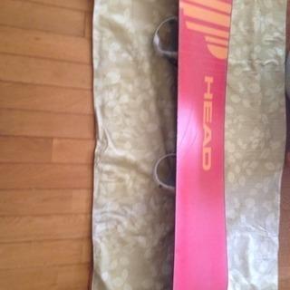 HEAD RUSH 右きき足用のスノーボード
