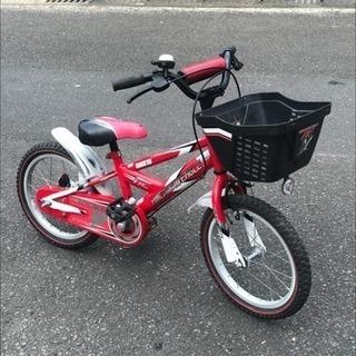 16インチ・子供用自転車・補助輪無・中古