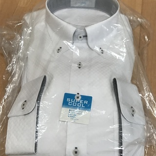 七分袖ワイシャツ(Mサイズ)の画像