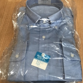 七分袖ワイシャツ(Mサイズ) - 服/ファッション