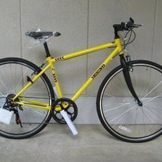 〔新品大特価〕700cクロスバイク(外装6段・Vブレーキ)シーク...