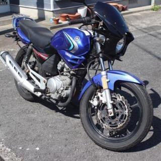 YBR125 青 中古 バイク 原付2種 MT車 自賠責有り 1...