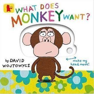 英語の絵本「What Does Monkey Want?」
