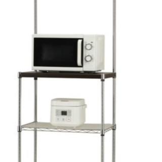 【美品・再値下げ!】レンジ台  レンジラック キッチン収納棚