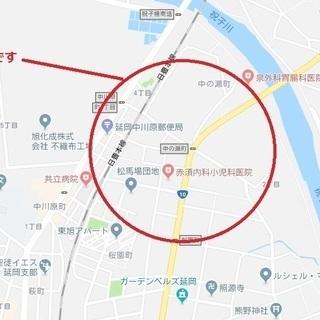 延岡市桜園町の土地貸します。売却もOK!条件付き大幅に値引 駅より...