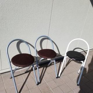 折り畳み椅子3脚