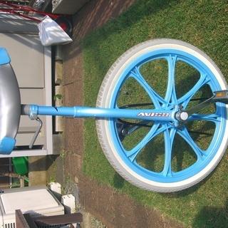 【引取り希望】一輪車&スタンド