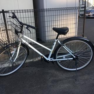 2ヶ月しか使用してない自転車です。