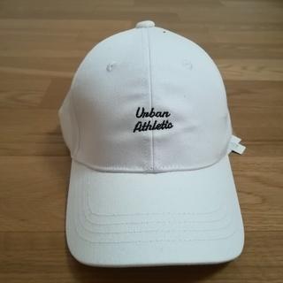 キャップ 帽子 ホワイト 白 THE SHOP TK  新品 未使用