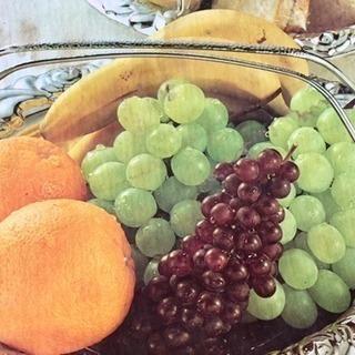 果物、食バンなど盛り合わせ器未使用