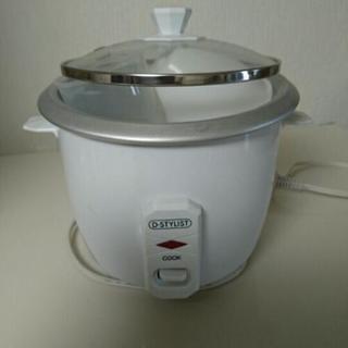 炊飯器 2合 【説明書有り】