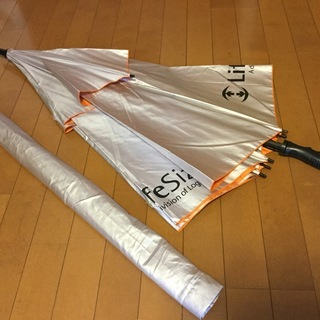 ゴルフアンブレラ  大サイズ UV・ダブルキャノピータイプ
