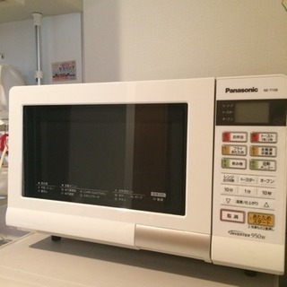 【美品】Panasonic NE-T158 オーブンレンジ