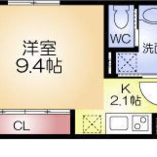 西大橋駅 徒歩4分  家賃33500円 共益費6000円 33.11㎡