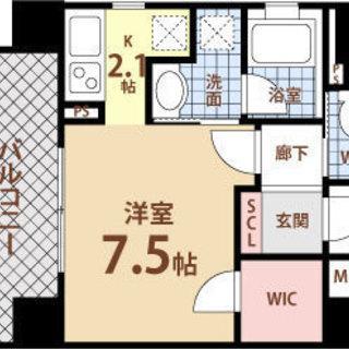 西大橋駅 徒歩4分  家賃32000円 共益費6000円 30.33㎡