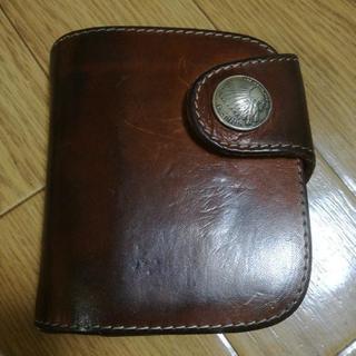 レッドムーン二つ折財布