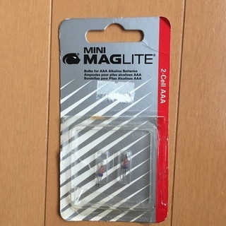 MAGLITE 替え電球 2-cell AAA