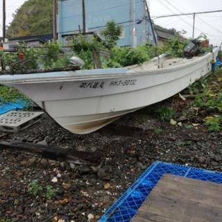 26フィート YAMAHA 和船ボート売ります。
