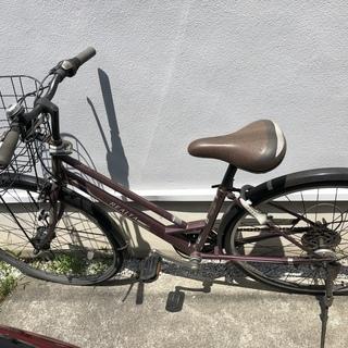 自転車シティサイクル(LEDライト)取りに来てくれる方、お譲りします