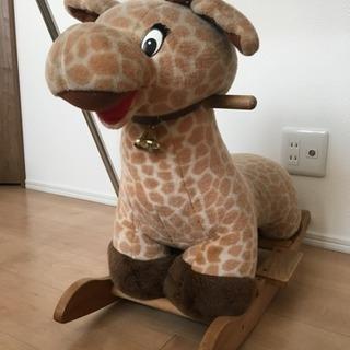 子供用おもちゃ 室内乗り物 キリン