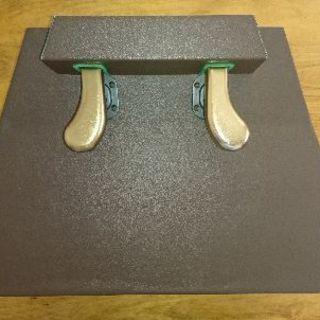 【中古】吉澤AX-100 ピアノ補助ペダル ウォールナット
