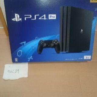 新品。未使用品。PS4Pro。