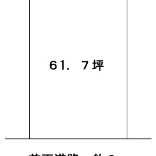 伊賀市希望ヶ丘東・61.7坪・売土地