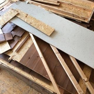 建築廃材(木材)差し上げます