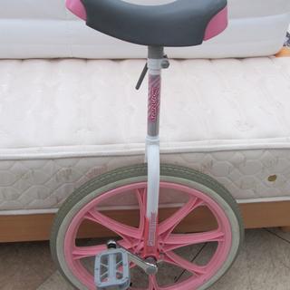 一輪車 20インチ ピンク スケアクロウ 西宮の沢