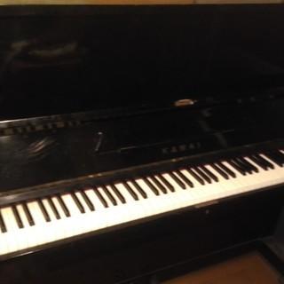 カワイ アップライトピアノ KAWAI 2ペダル