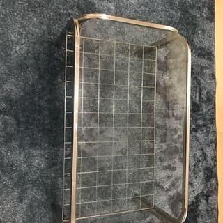 ガラスアルミテーブル