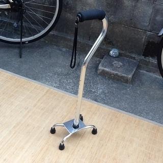 介護用品の4点ステッキ、杖 イーストアイという会社の製品 歩行補助...