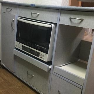 キッチンカウンターワゴン 大阪市帝塚山駅に取りにこれる方